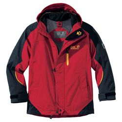 Jack Wolfskin Kids Mountain Trail Jacket Indian Red